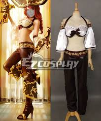 of legends classic miss fortune cosplay costume