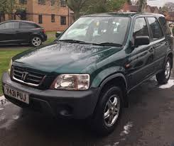 2001 honda crv 2 0 petrol manual long mot suv in castle bromwich