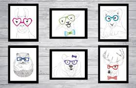 animals in glasses u2013 foxleaf