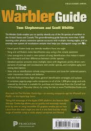 the warbler guide tom stephenson scott whittle 9780691154824