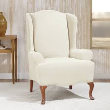 sure fit stretch morgan t cushion wingback slipcover u0026 reviews