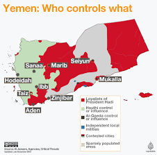 Where Is Yemen On The Map Death Toll In Yemen Conflict Passes 10 000 Yemen News Al Jazeera