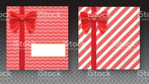 big present bow gift boxes with big bow and ribbon on transparent background