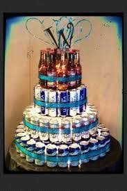 Liquor Bottle Cake Decorations 30 Cheers To 30 Years 30th Birthday Gift With 30 Mini Liquor