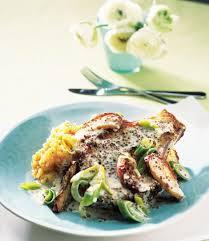 creme fraiche cuisine pork chops with mustard apple and creme fraiche delicious magazine