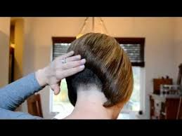 bob haircuts with weight lines stacked bob with short nape short hair video pinterest