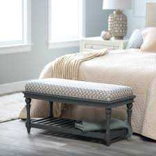 end of bed storage bench with drawers end of bed storage bench