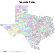 Zip Code Map El Paso by See Map Of Texas