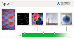 Art And Design Movements Timeline Op Art Movement Artists And Major Works The Art Story