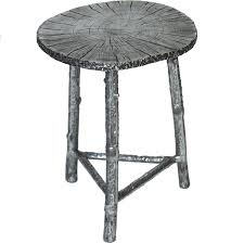 aluminum accent table nickel aluminum accent table cabana home
