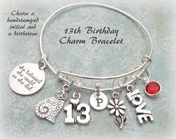 birthday charm bracelet 16th birthday gift sweet 16 charm bracelet turning 16 gift