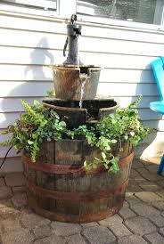 diy outdoor water fountain kits outdoor designs