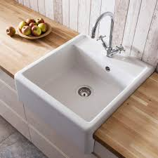 Ceramic Kitchen Sinks Crosswater Cucina Belgravia Semi Inset Belfast Kitchen Sink