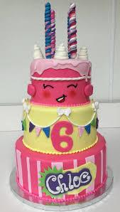 shopkin party tiered the ambrosia bakery cake designs baton