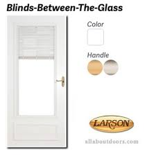 Blinds Between The Glass Larson Storm Doors Windows Parts U0026 Hardware