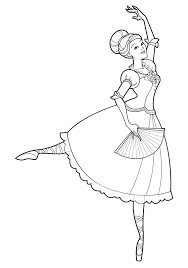 free printable ballet coloring pages for kids 23781