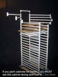 paint drying rack for cabinet doors creative cabinet drying rack paint drying rack for cabinet doors