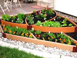 raised vegetable garden ideas home outdoor decoration