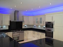 lighting in the kitchen ideas led blue kitchen ceiling lights stunning led kitchen ceiling