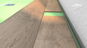 Lamination Flooring Installation Of Egger Laminate Flooring With Just Clic Youtube
