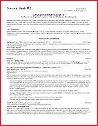 Environmental Science Resume Sample Environmental Science Resume Sop Examples