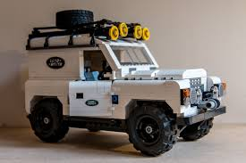 lego range rover lego ideas landrover 4 x 4