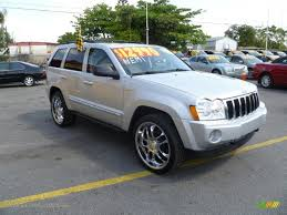 05 jeep laredo 2005 jeep grand limited 4x4 in bright silver metallic