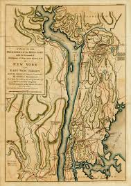 New York Street Map by Map Of The Battles Of Long Island And White Plains New York 1776