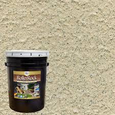 daich rollerrock 5 gal self priming pebblestone exterior concrete