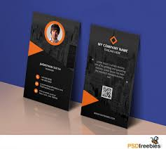 modern corporate business card template psd download download psd