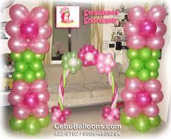 strawberry shortcake party supplies pillar cake arch strawberry shortcake cebu balloons and party