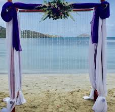 wedding arches u0026 aisles st thomas weddings flawless weddings