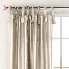 Tie Top Curtain Panels Luster Silk Tie Top Drapery Panel Direct 3d Model Max Obj Fbx Mtl Mat