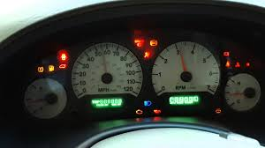 2002 dodge neon check engine light resetting the instrument cluster panel dodge youtube
