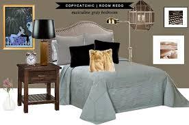 Masculine Grey Bedroom Copy Cat Chic Room Redo Masculine Gray Bedroom Copycatchic
