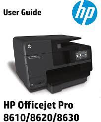 hp officejet pro 8630 e all in one printer user guide