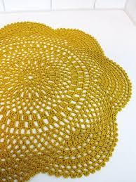 Easy Crochet Oval Rug Pattern Crochet Doily Rug Pattern Lvly Crochet Doily Rug Doily Rug