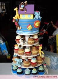 noah ark baby shower noah s ark baby shower cupcake stand baby shower cupcake towers