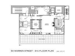 Kennedy Warren Floor Plans Tribeca Penthouse With Bright Interiors Manhattan New York