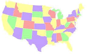 can you me a map of the united states map problems