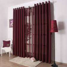 Material For Kitchen Curtains by Aliexpress Com Buy Kitchen Curtains Solid Color Drapes For