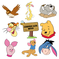 disney pooh friends