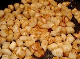 comment cuisiner le navet dés de navets dorés