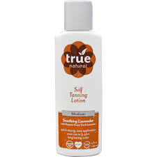 true natural self tanning lotion medium soothing lavender 4