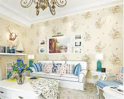 online shop beibehang fashion fresh small floral wallpaper bedroom