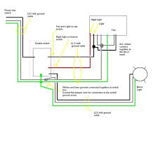 double switch for fan and light how to wire a double light switch wiring 2 way common two lights