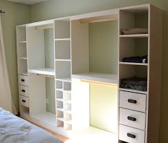 How To Build Shelves In Closet by Ana White Master Closet System Diy Projects
