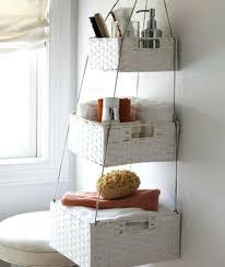 Hanging Baskets For Bathroom Storage Bathroom Storage Baskets Hanging Baskets Craft Project Brilliant