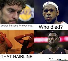 Lebron Hairline Meme - lebrons hairline died by crazyace134 meme center