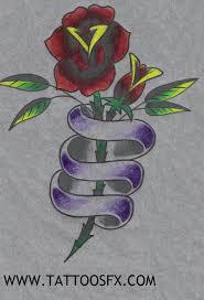 ribbon with names flower tattoo designs tattoosfx tattoo gallery tattoo